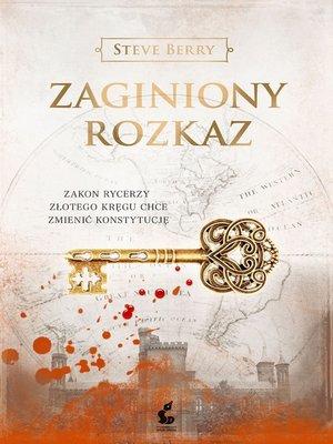 cover image of Zaginiony rozkaz