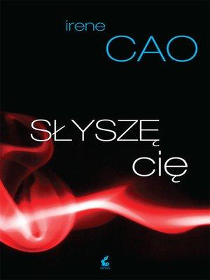 cover image of Słyszę cię