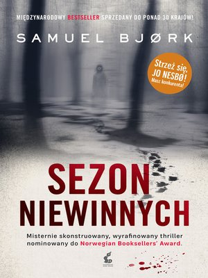 cover image of Sezon niewinnych