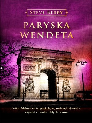 cover image of Paryska wendeta