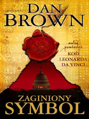 cover image of Zaginiony symbol