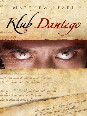 cover image of Klub Dantego