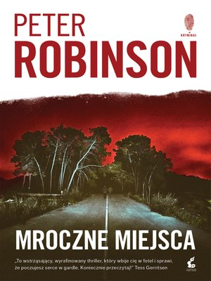 cover image of Mroczne miejsca
