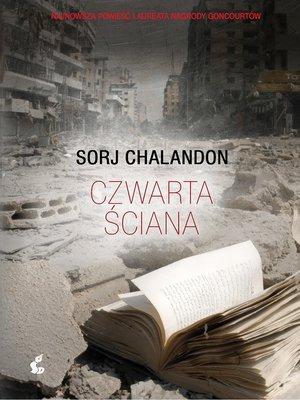 cover image of Czwarta ściana