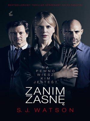 cover image of Zanim zasnę