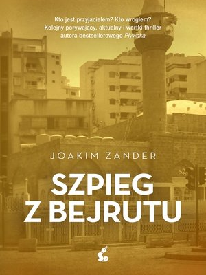 cover image of Szpieg z Bejrutu