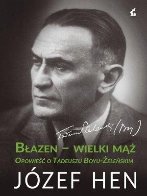 cover image of Błazen-wielki mąż.