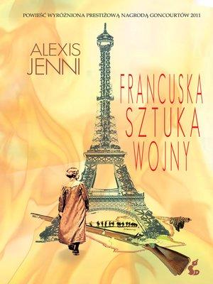 cover image of Francuska sztuka wojny