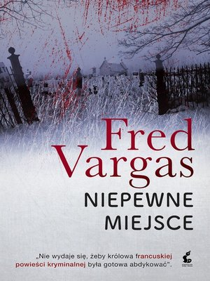 cover image of Niepewne miejsce