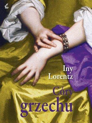 cover image of Córy grzechu