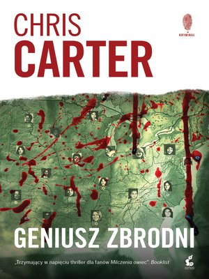 cover image of Geniusz zbrodni