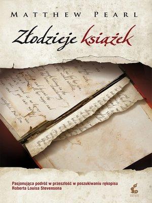 cover image of Złodzieje książek