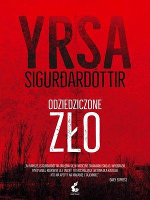 cover image of Odziedziczone zło