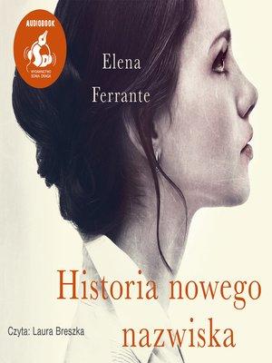 cover image of Historia nowego nazwiska