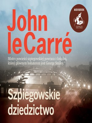 cover image of Szpiegowskie dziedzictwo