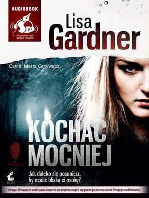 cover image of Kochać mocniej