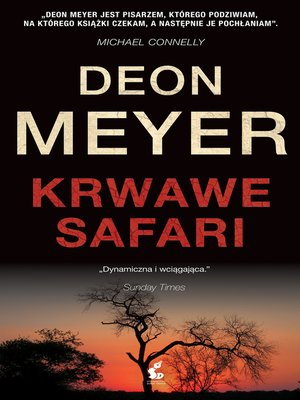 cover image of Krwawe safari