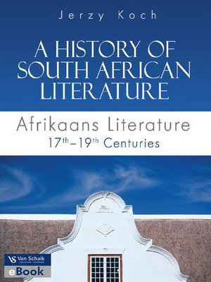 cover image of A History of South African Literature