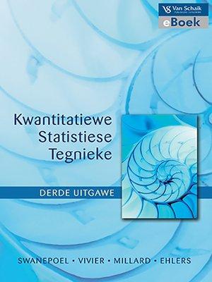 cover image of Kwantitatiewe Statistiese Tegnieke