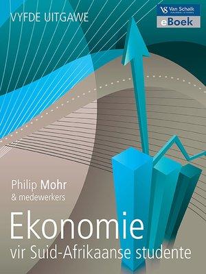 cover image of Ekonomie Vir Suid-afrikaanse Studente