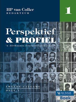 cover image of Perspektief en profiel 2 Deel 1