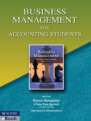 cover image of Business Management for Accounting Students