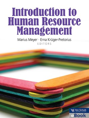 cover image of Introduction to Human Resource Management