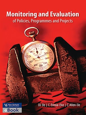 cover image of Monitoring and Evaluation of Policies, Programmes and Projects