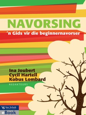 cover image of Navorsing