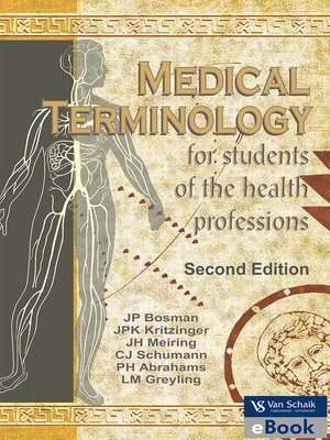 cover image of Medical Terminology for Students of the Health Professions