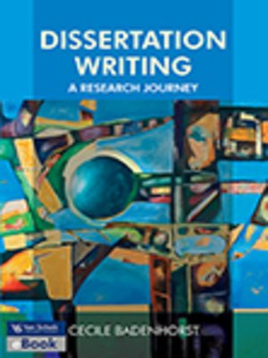 cover image of Dissertation Writing