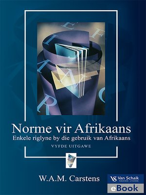 cover image of Norme Vir Afrikaans