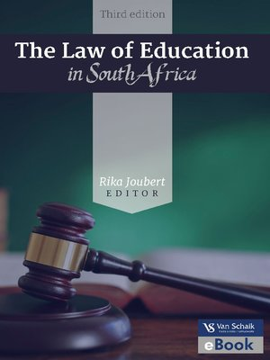 cover image of The Law of Education