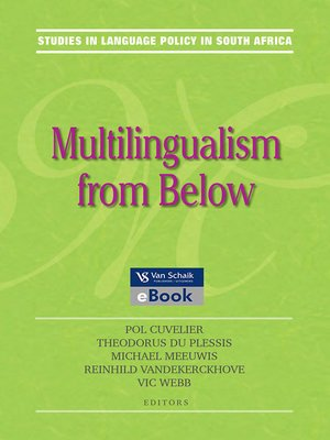 cover image of Multilingualism From Below