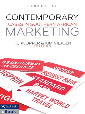 cover image of Contemporary Cases In Southern African Marketing