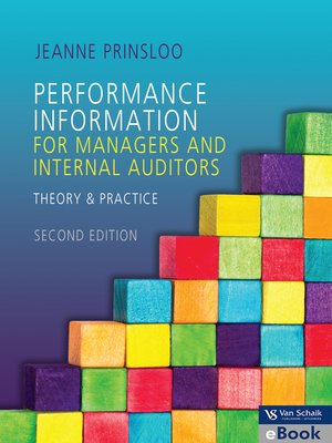 cover image of Performance Information for Managers and Internal Auditors