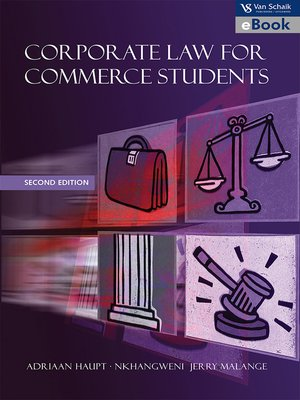 cover image of Corporate Law for Commerce Students