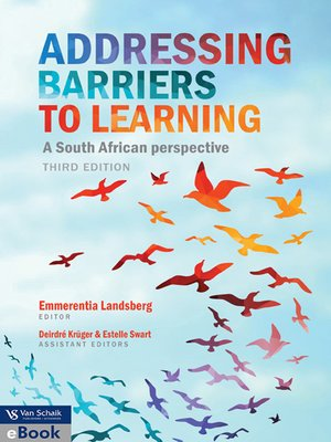 cover image of Addressing Barriers to Learning