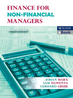 cover image of Finance for Non-financial Managers