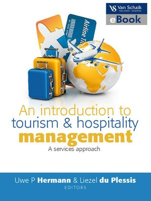 cover image of An Introduction to Tourism and Hospitality Management