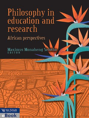cover image of Philosophy In Education