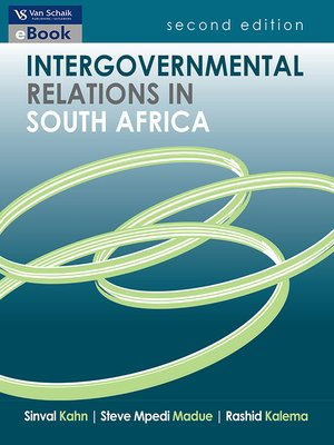 cover image of Intergovernmental relations in South Africa 2