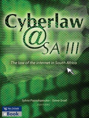 cover image of Cyberlaw @ SA III