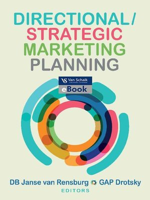 cover image of Directional/Strategic Marketing Planning