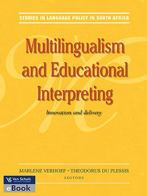 cover image of Multilingualism and Educational Interpreting