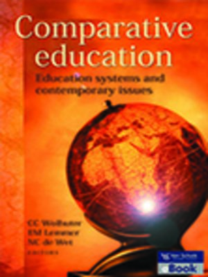 cover image of Comparative Education