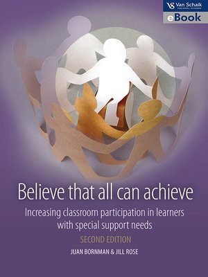 cover image of Believe That All Can Achieve