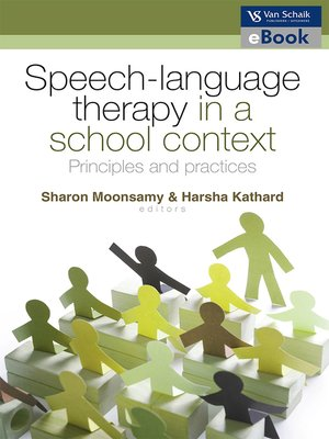 cover image of Speech Language Therapy in a School Context
