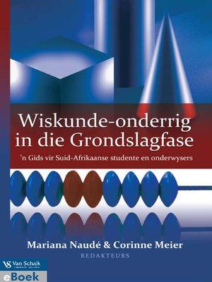 cover image of Wiskunde Onderig in Die Grondslagfase