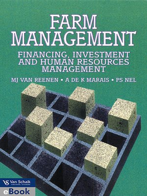 cover image of Farm Management: Financing, Investment and Human Resource Management